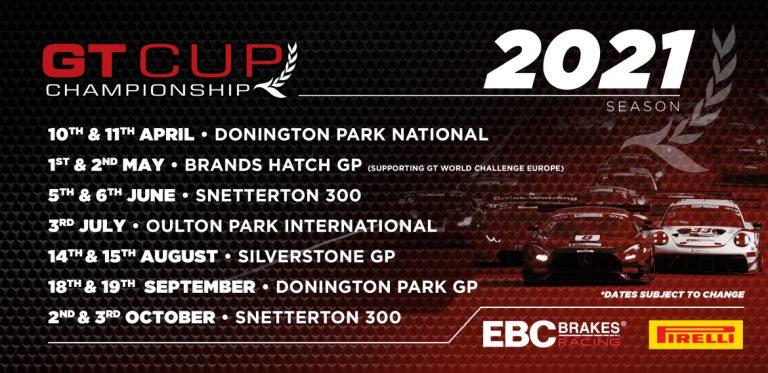 2021 GT Cup Calendar