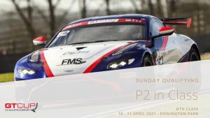 P2 Sunday Qualifying